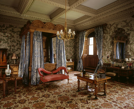 The State Bedroom At Penrhyn Castle Penrhyn Castle At