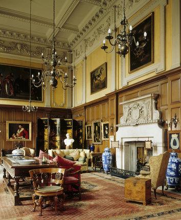 The Great Hall at Dunham Massey