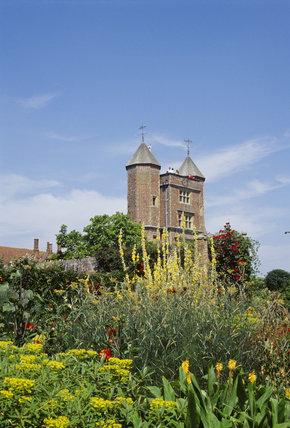 The Tower from Cottage Garden at Sissinghurst, Kent