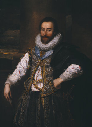 CONFECTED PORTRAIT OF ROBERT SYDNEY, 1ST EARL OF LEICESTER (1563-1626)