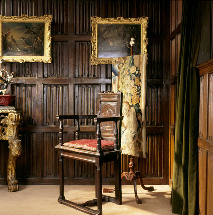 The little wooden chair (caquetoire) is a famous relic