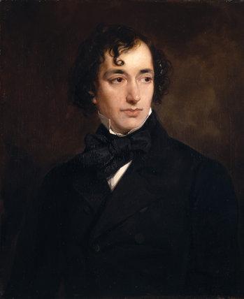 BENJAMIN DISRAELI 1804-78, by Sir Francis Grant PRA(1803-78)