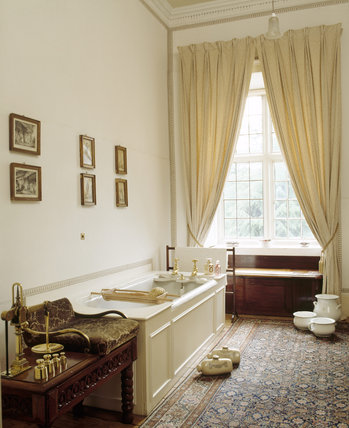 The Lothian Row Bathroom at Blickling Hall