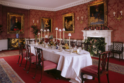 Room view of the Dining Room