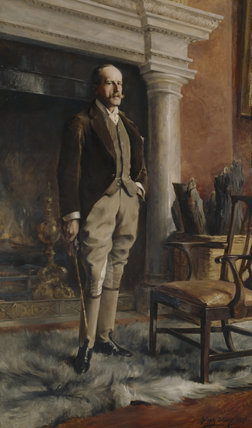 A portrait of the 7TH LORD VERNON, 1891 by Julian Story (1857- 1919)