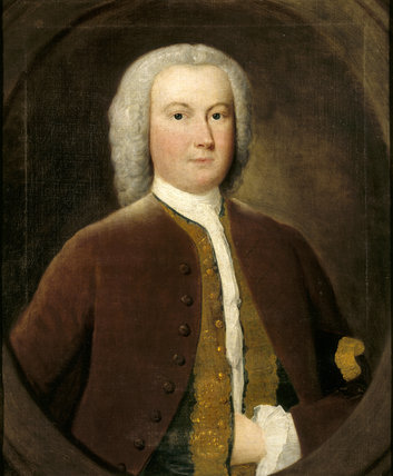THOMAS FERRERS (1713-60) by an unknown artist