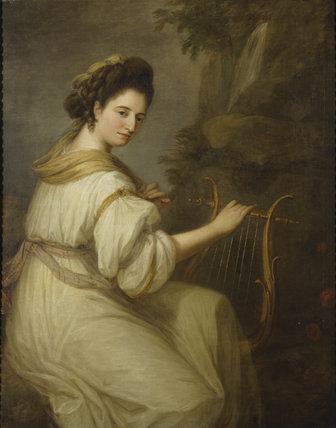 Angelica Kauffman (1741-1807) portrait of Jemima Ord