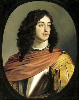 PORTRAIT OF PRINCE EDWARD, COUNT PALANTINE, (1625-1663)by Gerard Van Honthorst