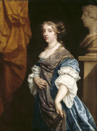 PORTRAIT OF COUNTESS OF SHREWSBURY after Sir Peter Lely (1618- 80)