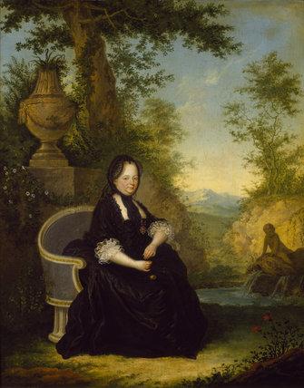 EMPRESS MARIA THERESA AS A WIDOW, Austrian c.1770 Maria Theresa (1717-80)