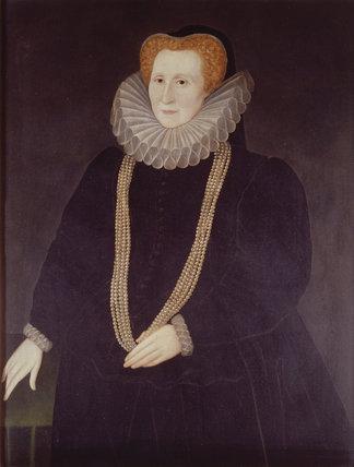 ELIZABETH HARDWICK COUNTESS OF SHREWSBURY (Bess of Hardwick) is attr
