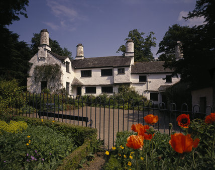 A view of the south front of Townend, the 17th century house of yeoman farmers