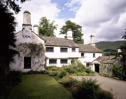 A view of the south front of Townend, a yeoman farmer's house which was built c 1626
