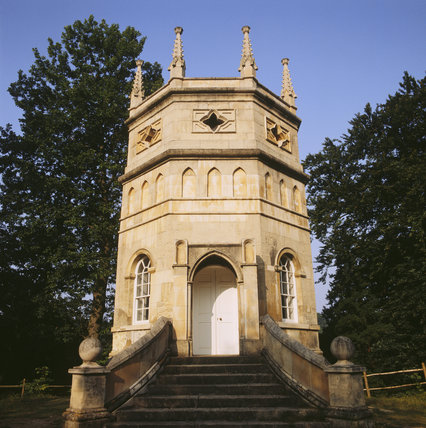 The Octagon Tower in the grounds of Studley Royal