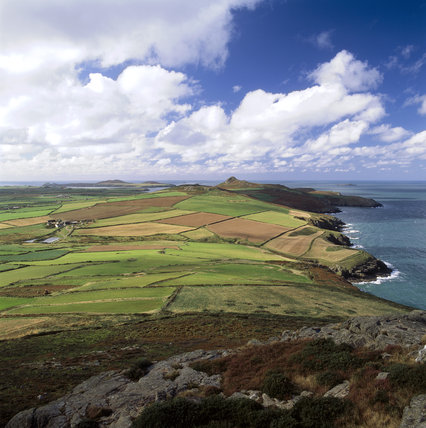 Looking west south west from Penberry towards St. David's Head