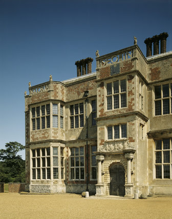 The South Front of the exterior of Felbrigg Hall