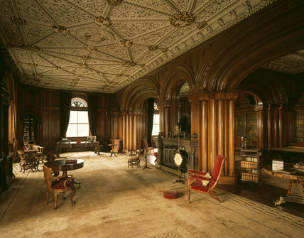 The Library At Penrhyn Castle Penrhyn Castle At National