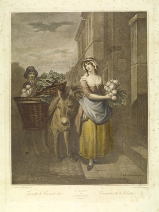 TURNIPS AND CARROTS HO by Francis Wheatly (1741-1801) after T