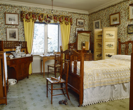 The Yellow Bedroom with William Morris