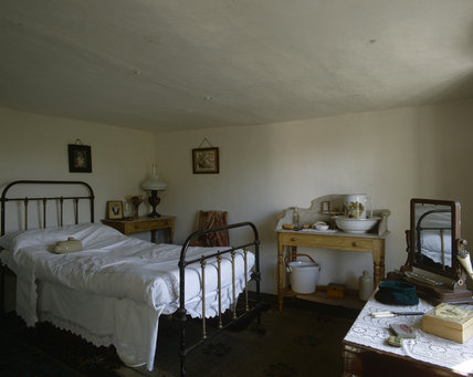 Interior Of The Fenman S Cottage At Wicken Fen Furnished