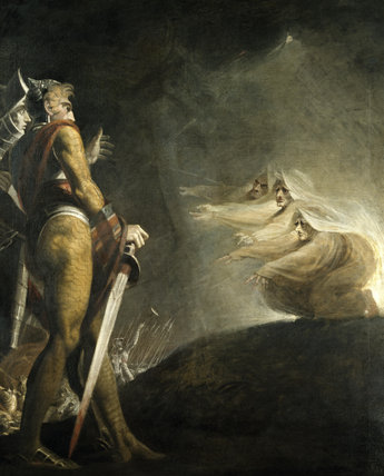 role of witches in macbeth