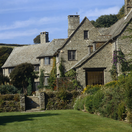 Exterior Of Coleton Fishacre The Arts Crafts Style