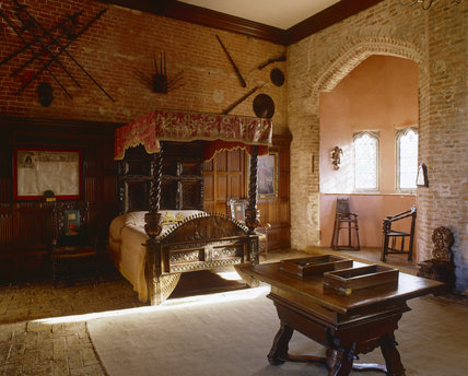 The King S Room At Oxburgh Hall King S Lynn Norfolk