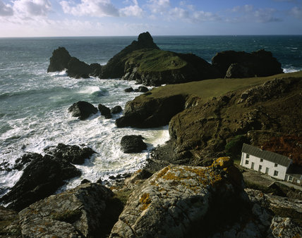 Kynance Cove Looking South Towards Asparagus Island And