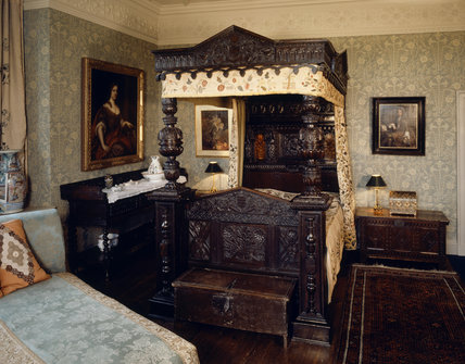 Gawthorpe Hall View Of The Huntroyde Room Showing The
