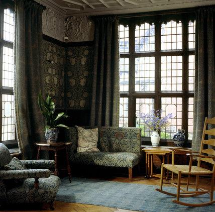 Corner View Of The Billiard Room At Wightwick Manor