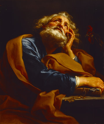 ST PETER by Pompeo Batoni (1708-1787) from Basildon Park
