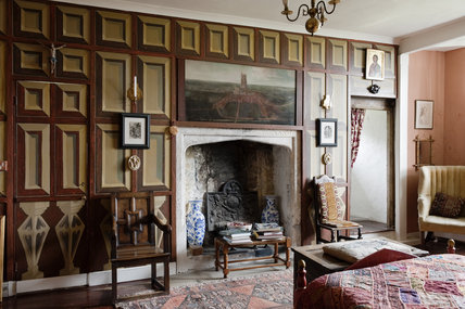 The Tudor Bedroom At Newark Park Gloucestershire Looking