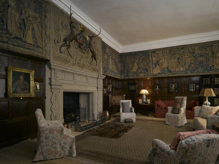 The Drawing Room At Hardwick Hall Derbyshire Hardwick