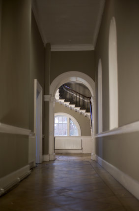 View Along The Corridor Towards Stairs At Croome Court