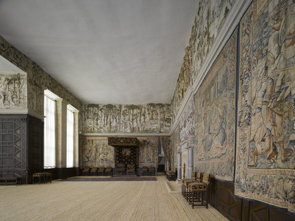 The High Great Chamber At Hardwick Hall Derbyshire