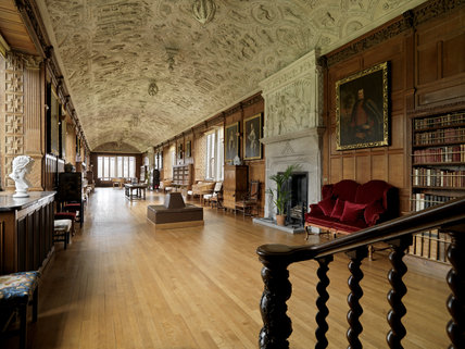 The Long Gallery At Lanhydrock Cornwall Lanhydrock At