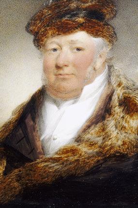 Sir John Williams Of Bodelwyddan A Miniature By An