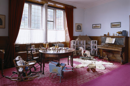 Room View Of The Day Nursery Including The Dolls House