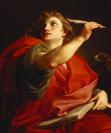 ST JOHN THE EVANGELIST by Pompeo Batoni (1708-1787) from Basildon Park