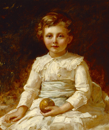 HON. GERALD AGAR-ROBARTES later 7th Viscount Clifden, by John Hanson Walker (1844-1933).