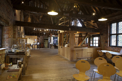 Interior Of The Main Building At Winchester City Mill