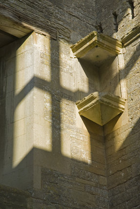 Close detail of part of Lyveden New Bield, Peterborough, Northamptonshire