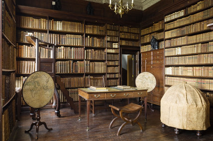 The Library At Ham House Surrey Constructed In 1672 4