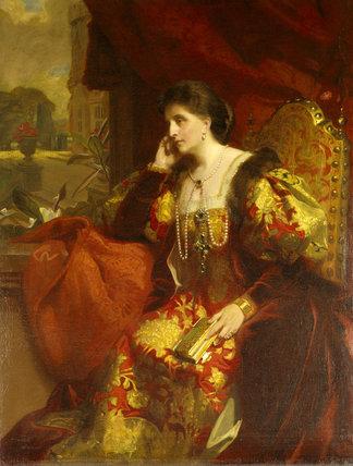 ADELAIDE TALBOT by Frank Salisbury R.A. (1845-1917)