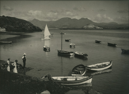 Boats in Harbour, Possibly France