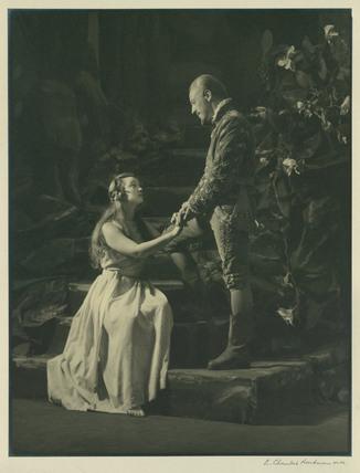 The Tempest - Prospero and Miranda, E.Chambre Hardman ...