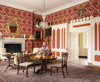 The Ambassadors Room At Croft Castle Was Formed By