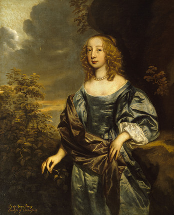 Lady Anne Percy Countess Of Chesterfield 1633 1654 By P