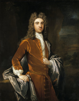 SIR JOHN HARPUR, 4th BT, attributed to Charles Agar (1669-1723)