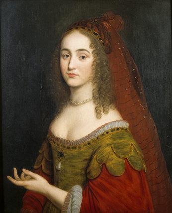 HENRIETTA MARIA, PRINCESS PALATINE (1626-1651) by Gerard van Honthorst